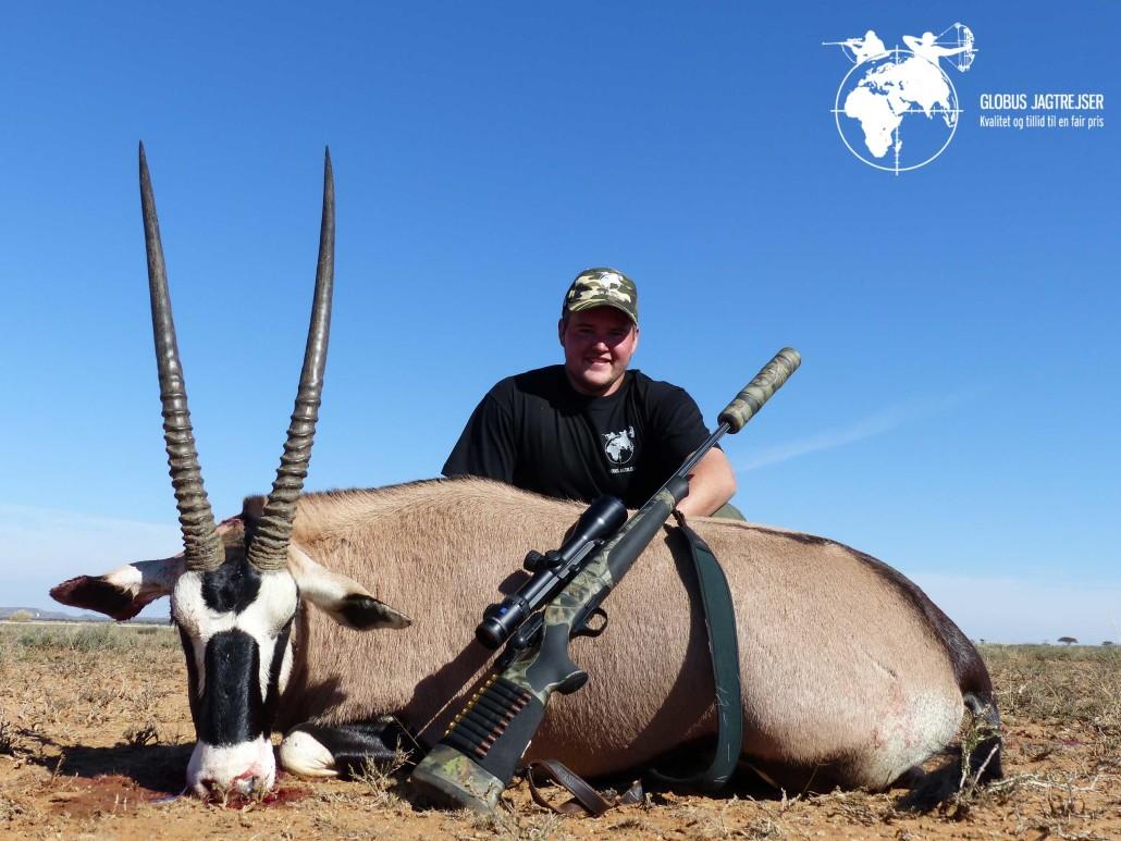 Oryx Globus Jagtrejser